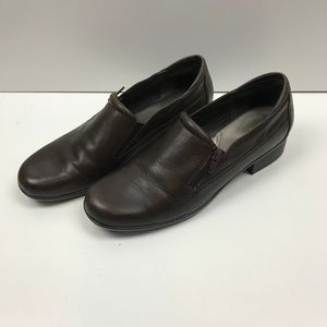 Easy Spirit Brown Leather Loafer